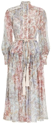 Zimmermann Lucky Bound Midi Dress