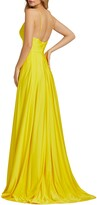 Thumbnail for your product : Mac Duggal Plunge Neck Pleated Gown