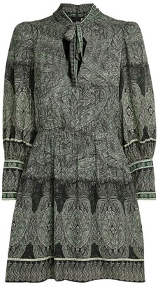 Alice + Olivia Alice+Olivia Tanisha Patterned Dress