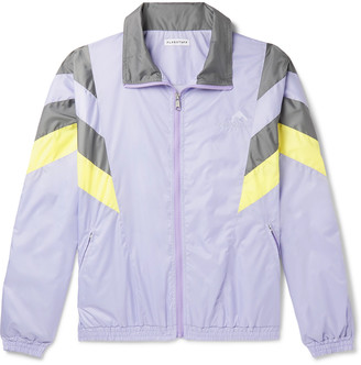 Flagstuff Logo-Embroidered Tech-Shell Track Jacket - Men - Purple