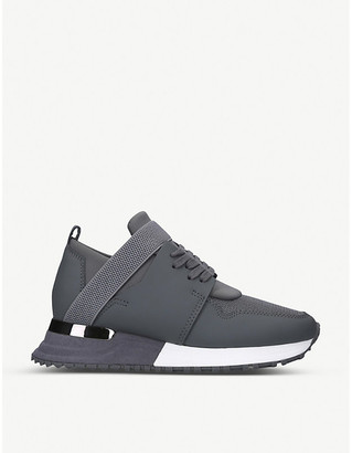 Mallet BTLR Elast leather and mesh trainers