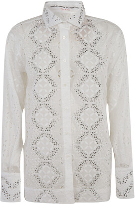 Ermanno Scervino Embellished Detail Shirt