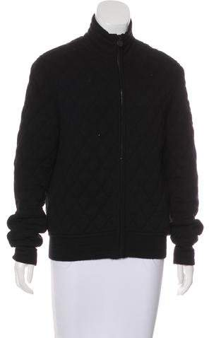 Chanel Wool Quilted Jacket