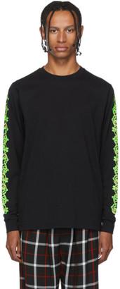 SSS World Corp Black Fire Dollar Long Sleeve T-Shirt