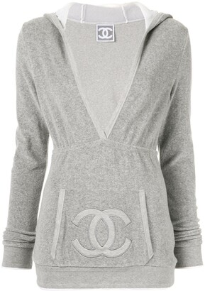 Chanel Pre-Owned interlocking CC Sports Line hoodie