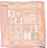 Hermes Persona Silk Pocket Square