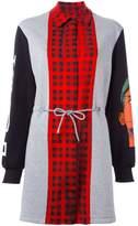 Moschino panelled sweatshirt dress