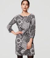 LOFT Tall Gypsy Rose Shirtdress