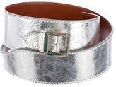 Tory Burch Metallic Waist Belt