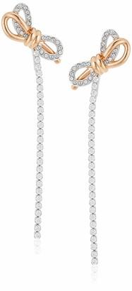 Swarovski Women's Lifelong Bow Stud Pierced Earrings
