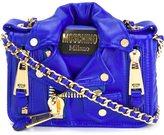 Moschino biker crossbody bag