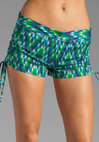 Milly Digital Zig Zag Drawstring Short