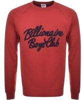 Billionaire Boys Club Script Logo Sweatshirt Red