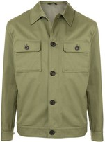Gieves & Hawkes lightweight buttoned jacket