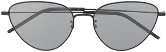 Saint Laurent Eyewear Cat Eye Aviator Sunglasses