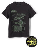 Classic Toddler Boys Glow in the Dark Graphic Tee-Butterflies