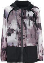 Diesel printed hooded jacket