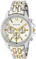 Vernier Women's VNR11158TT Analog Display Japanese Quartz Two Tone Watch