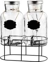 Jay Import Sierra Chalkboard Beverage Dispenser & Stand - Set of 2
