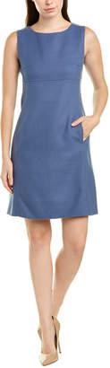 Max Mara Wool Shift Dress