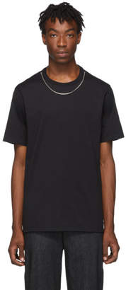 Neil Barrett Black Travel Jersey Necklace T-Shirt