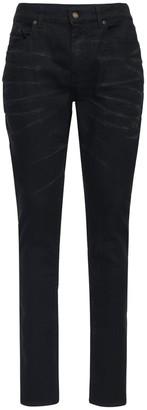 Saint Laurent 16cm Skinny Stretch Cotton Denim Jeans