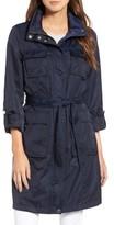 Tahari Petite Women's Monroe Utility Trench Coat
