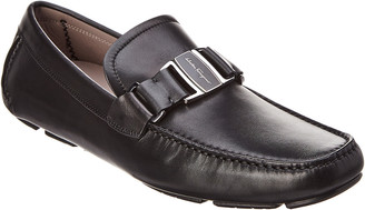 Salvatore Ferragamo Leather Moccasin