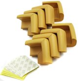 KF Baby Table Corner Guard, Goldenrod, 8pc, with kilofly Refrigerator Magnet