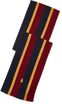 Polo Ralph Lauren Striped Wool-Blend Scarf