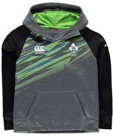 Canterbury of New Zealand Kids Ireland Rugby Fleece Hoody Junior OTH Hoodie Hooded Top Warm