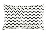 Nobodinoz Cotton Rectangular Cushion - Zig Zag Pattern