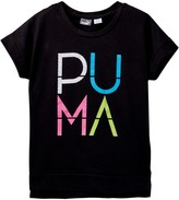 Puma Drop Shoulder Top (Little Girls)