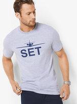Michael Kors Jet Set Graphic Cotton T-Shirt