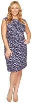 Nic+Zoe Plus Size Groundwork Twist Dress Women's Dress