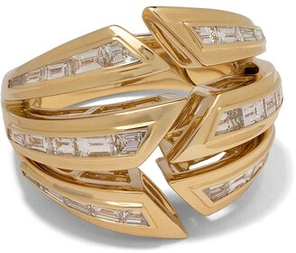 Stephen Webster 18kt yellow gold Dynamite Bombe diamond ring