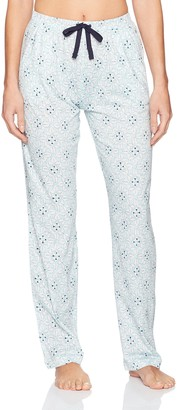 Nautica Women's Printed Jersey Long Pant