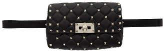 Valentino Black Garavani Rockstud Belt Bag
