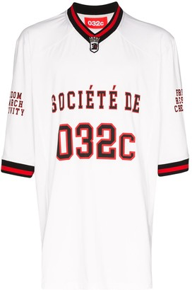 032c American football logo T-shirt