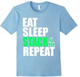 Eat Sleep Stack Repeat Speed Stacking Cups T-Shirt