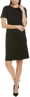 Lafayette 148 New York Henora Wool Shift Dress