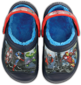 Crocs Black & Blue Creative Marvel's AvengersTM Fuzz Lined Clog