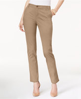 Style&Co. Style & Co Cuffed Slim-Leg Pants, Only at Macy's