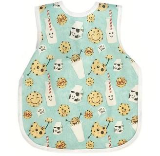 BapronBaby Toddler Bib Cookies and Milk 6 Months - 3T