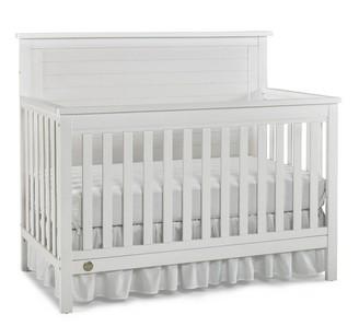 Fisher-Price Quinn Convertible Crib - Weathered White