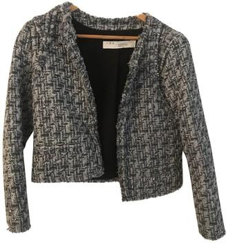 IRO Blue Tweed Jackets