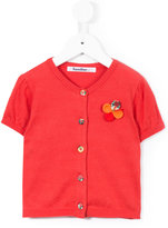 Familiar flower embellished buttoned blouse - kids - Cotton - 2 yrs