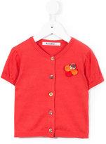 Familiar flower embellished buttoned blouse - kids - Cotton - 2 yrs