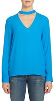 1 STATE Women's 1.state Band Collar Blouse