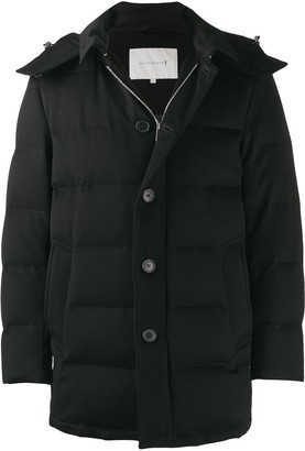 MACKINTOSH AUCHAVAN Black Storm System Wool Down Jacket GD-001